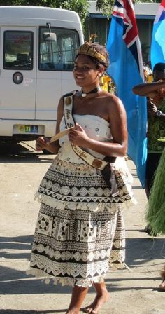 Current Miss South Pacific @ the 11th Festival of Pacific Arts, 2012 in the Solomon Islands x