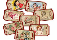 Valentine Love Tickets-Instant Digital Download-8 by sssstudio, ETSY, great printable e-shop! !
