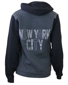 Sigma Delta Tau New York Hoody by Adam Block Design | Custom Greek Apparel & Sorority Clothes | www.adamblockdesign.com