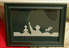 MST3K Cross-Stitch!  Obscure geek kitsch.