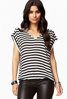 Essential Striped Top | FOREVER 21 - 2072536303