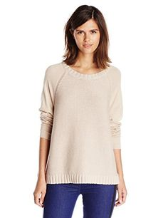 Get Joie Women's Weisend Mixed Gauge Pullover Sweater, Almond, Small - http://womenssweaters.hzhtlawyer.com/get-joie-womens-weisend-mixed-gauge-pullover-sweater-almond-small/