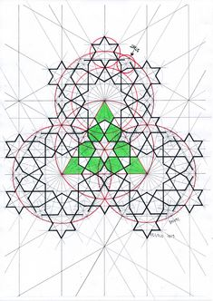 Geometry Art, Sacred Geometry, Pattern Drawing, Pattern Art, Geometric Construction, Islamic Art Pattern, Geometric Drawing, Math Art, Cool Art