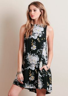 Sun Dance Floral Dress By Knot Sisters | ThreadSence