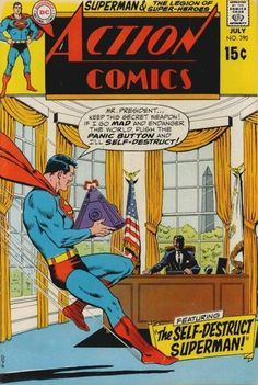 This Superman will self-destruct at the president's discretion!