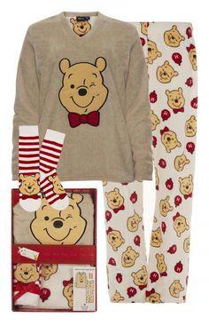 "Primark - ""Winnie The Pooh"" Pyjama in Geschenkbox Cute Pjs, Cute Pajamas, Cute Disney, Disney Style, Disney Gift, Lazy Day Outfits, Cute Outfits, Cute Sleepwear, Disney Pajamas"