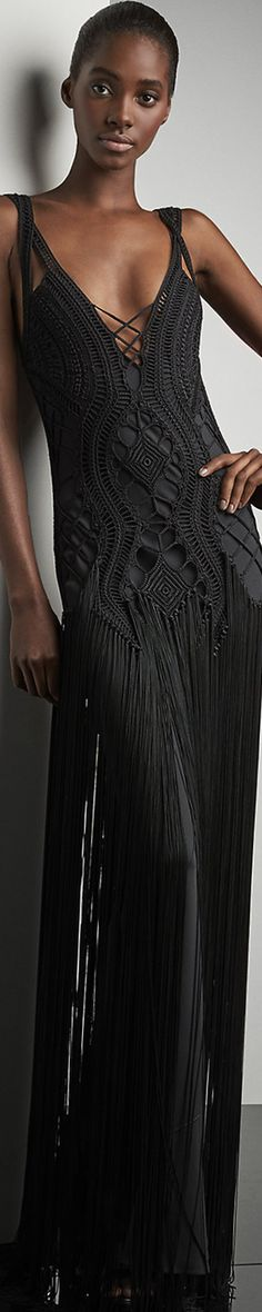 Ralph Lauren Crocheted Fringed Maxi Dress                                                                                                                                                                                 More