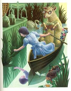 Justin Todd | ILLUSTRATION | Alice's Adventures in Wonderland