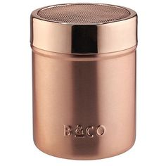 Barista & Co Copper Cocoa Shaker - from Lakeland