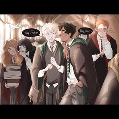 Harry Potter Fan Art, Harry Potter Comics, Cute Harry Potter, Harry Potter Feels, Harry Potter Drawings, Harry Potter Ships, Harry Potter Anime, Harry Potter Jokes, Harry Potter Cast