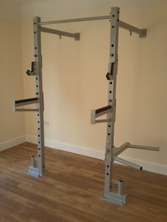 Diy Home Gym, Gym Room At Home, Gym Rack, Crossfit Home Gym, Dream Gym, Gym Machines, Home Gym Design, Garage Gym, Fitness Studio