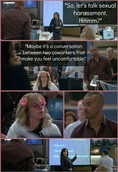 12 Times That Prove Morgan and Garcia are the Best Friends on TV: The Original BFFs - Criminal Minds Super Junior, Criminal Minds Funny, Criminal Minds Season 9, Morgan And Garcia, Behavioral Analysis Unit, Crimal Minds, Dr Spencer Reid, Penelope Garcia, Tv Quotes