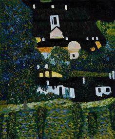Gustav Klimt 1909 Schloss Kammer on Attersee III