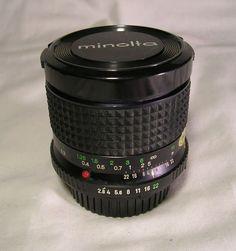 Minolta MD W.Rokkor-X 24mm f/2.8 1:2.8 Wide Angle Lens Made in Japan Excellent  #Minolta