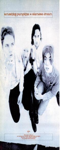"The Smashing Pumpkins, ""Siamese Dream"" [1993] | 58 Vintage Ads For Alt-Rock Classics"