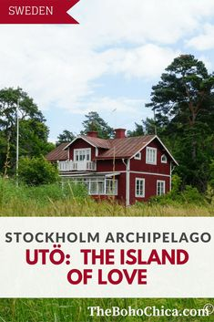 Explore the beautiful island of Utö in the Stockholm Archipelago on a day trip from Stockholm.