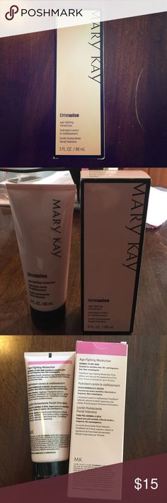 TimeWise Age-Fighting Moisturizer Mary Kay TimeWise Age-Fighting moisturizer for normal to dry skin. BRAND NEW Mary Kay Makeup
