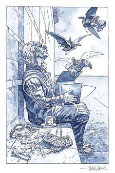 Moebius tribute by Duncan Fegredo