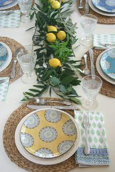 ciao! newport beach: setting the table, italian style