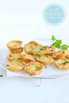 Egg-free mini quiches Mini quiches are a yummy sandwich alternative in school lunch boxes and offer variety to the everyday. They're not off limits to children with egg allergies with the use of tofu as an egg-replacer. Nutrition Note: Tofu is high in protein, low in salt and a source of calcium and iron. It …