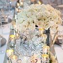 Metallic Wedding Decorations, Trend, Silver, Gold, Crystals, Fabric, Jewelry