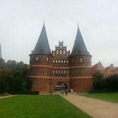 Lübeck, Germany holstentor city gate