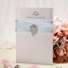 Wedding Invitation Non-personalized Modern Style Invitation Cards – USD $ 34.99