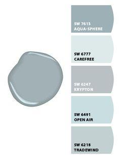 New Gray Wallpaper Bedroom Grey Paint Colors Ideas Blue Gray Paint Colors, Bedroom Paint Colors, Exterior Paint Colors, Paint Colors For Living Room, Paint Colors For Home, Room Colors, House Colors, Neutral Paint, Paint Colours