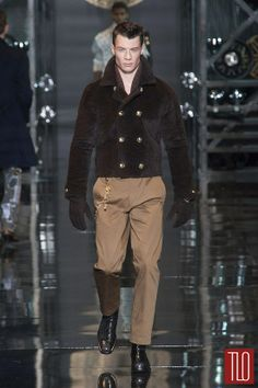 Versace Fall 2014 Menswear Collection | Tom & Lorenzo Fabulous & Opinionated