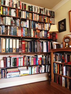"RJ Ellory's bookshelves: ""So many books, and within each one a world. Read, and you can live a thousand lifetimes all at once..."""