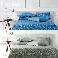 Impossível não ter uma cama elegante com a Buddemeyer! Confira na Catran Jogo de Cama Jasmine.