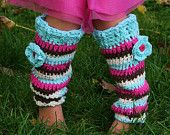 Little Girls Leg Warmers