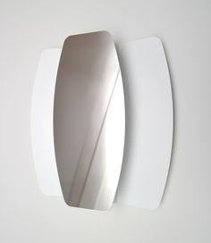 PAPILLON Wall Lamp with Mirror. LED. Design by Sami Ayadi for FORMAGENDA.  #Formagenda #Lighting #Design
