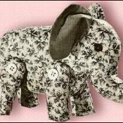 1944 Repro- Easy To Sew Animals & Dolls  - via @Craftsy
