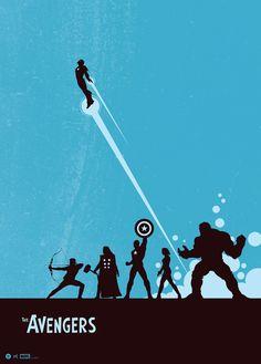 Artist Matt Ferguson created this Grey Matter Art print celebrating Earth's Mightiest Heroes. Explore the #Avengers on Marvel.com. #marvel #art