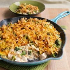 Stovetop Chicken & Broccoli Casserole Recipe