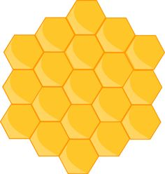 Free Image on Pixabay - Honeycomb, Bee, Shape, Hexagon Honeycomb Shape, Bee Honeycomb, Hexagon Shape, Show Da Luna, Bee Party, Bee Crafts, Bee Theme, Bee Keeping, Scrapbook Paper