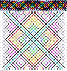 Friendship bracelet pattern new