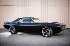 1970 PLYMOUTH CUDA CUSTOM COUPE - Barrett-Jackson Auction Company - World's Greatest Collector Car Auctions