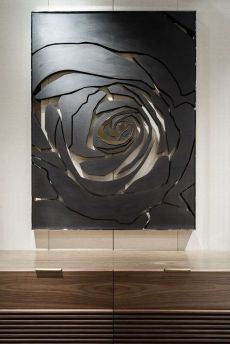 25 Rose Wall Painting Designs - decorisme Made from one of the most difficult minerals on earth, quartz countertops are among the most durable choices for kitchens Wall Sculptures, Sculpture Art, Rose Wall, Paint Designs, Wood Wall Art, 3d Wall, Wall Design, 3d Design, Metal Art