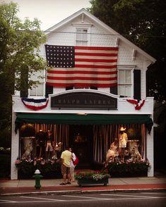 37409c70 Ralph Lauren Store, Small Town America, I Love America, American Pride,  American