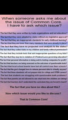 Common Core Truth