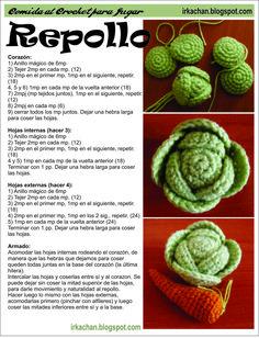 Entre lo primero que tejí cuando recién estaba aprendiendo a hacer crochet (y amigurumis) fue una canasta de frutas. La mayor parte las sa...