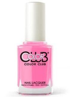 Color Club Nail Polish, What, Like It's Hard? 1277 Color Club Nail Polish, Neon Nail Polish, Nail Polishes, Neon Pink Nails, Pink Nail Colors, Nail Treatment, Stylish Nails, Nail Arts, Manicure And Pedicure