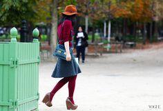 Paris Street Style 2013, Vogue