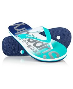 Superdry women's faded base flip flops. A classic thong style flip flop featuring an imprinted Superdry logo and an ombre style fade on the sole, the upper straps are textured and feature printed Superdry logos. Superdry, Flip Flops, Baby Shoes, Menswear, Mens Fashion, Clothes For Women, Boots, Base, Ombre Style