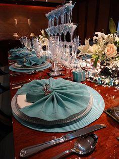 #ELEGANT #TABLE #SETTING #LUXURY #YACHT ♥