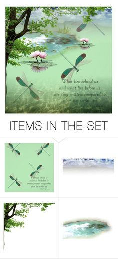 """What lies behind us and what lies before us are tiny matters compared to what lies within us. - Ralph Waldo Emerson"" by theother-stream ❤ liked on Polyvore featuring art"