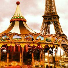 Carrousel de la Tour Eiffel in Paris, Île-de-France