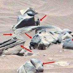 Otra Realidad Misterios y Conspiraciones: Curiosity descubre posible estatua tallada en mart...